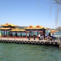 Photo taken at Boat Ride Kunming Lake, Summer Palace by Karla Patrícia R. on 3/22/2014