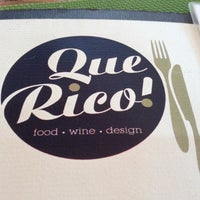 Photo taken at Que Rico by Andreas on 4/11/2013