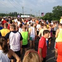 Photo taken at Boilermaker 15K Starting Line by Frank D. on 7/14/2013