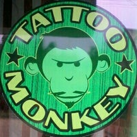Photo taken at Tatoo Monkey by Roefan A. on 9/22/2012