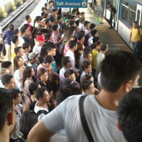 Photo taken at Yellow Line - Taft Avenue Station by Randtz Jared I. on 5/11/2014