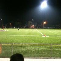 Photo taken at Villa Parke Community Center by Moni L. on 11/27/2012