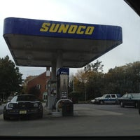 Photo taken at Sunoco by P. Jæ™ on 10/8/2012