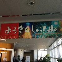 Photo taken at Fukuoka Airport (FUK) by Satoru N. on 1/12/2013