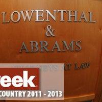 Photo taken at Lowenthal & Abrams, PC by Jennifer E. on 12/21/2014