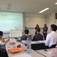 Das Foto wurde bei Hochschule für Wirtschaft und Recht (HWR) von Tina R. am 10/8/2012 aufgenommen