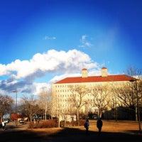 Photo taken at The University of Kansas by Caleb H. on 3/12/2014