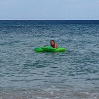Photo taken at Spiaggia di San Giovanni by Wiellukuh on 8/16/2014
