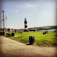 Photo taken at Plymouth Hoe by Thomas L. on 5/1/2013