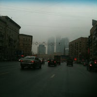 Photo taken at Большая Дорогомиловская улица by Rustam on 2/11/2013