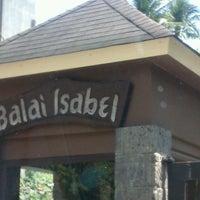 Photo taken at Club Balai Isabel by Wilson on 4/6/2013