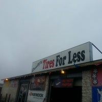 Photo taken at Quality Tires For Less LLC by Mrs W. on 9/20/2013