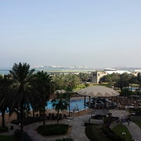 Photo taken at Le Royal Méridien Beach Resort & Spa by Marlina S. on 6/24/2013