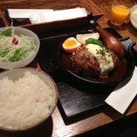 Photo taken at 山本のハンバーグ 恵比寿本店 by C21 on 10/19/2012