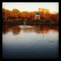Photo taken at Парк «Дубки» by Maxim B. on 5/7/2013