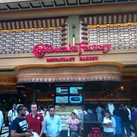Photo taken at The Cheesecake Factory by Emad B. on 3/28/2013
