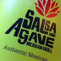Photo taken at Salsa & Agave Mexican Grill by Javier G. on 11/3/2012