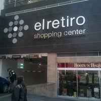 Photo taken at Centro Comercial El Retiro by Ricardo B. on 1/30/2013