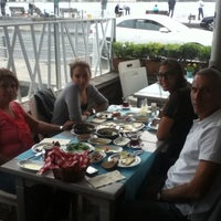 Photo taken at Mira Balık by Zeynep D. on 10/29/2012