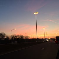 Photo taken at E42 - Saint-Georges-sur-Meuse by Tanguy F. on 2/18/2015