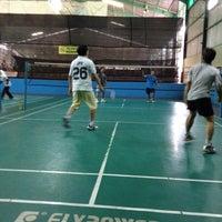 Photo taken at Grand Futsal Kuningan by Grace Ratu G. on 10/12/2012