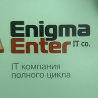 Photo taken at Enigma Enter IT Co. by Кирилл Г. on 12/19/2013
