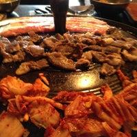 Photo taken at Honey Pig Korean BBQ by Anna I. on 6/9/2013
