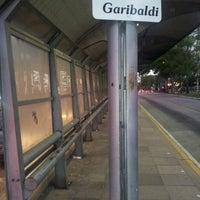 Photo taken at Estação Anita Garibaldi by Tiago R. on 1/10/2013