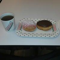 Photo taken at Krispy Kreme by aziz u. on 2/19/2015