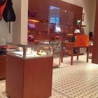 Photo taken at Hermès by wu on 6/30/2014