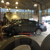 Photo taken at Discount Tire® Store by Matt M. on 1/21/2016