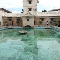 Photo taken at Taman Sari Water Castle by Mei ing T. on 12/24/2012