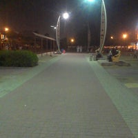 Photo taken at Al Corniche Walk by KuraChaniag0 on 4/5/2013