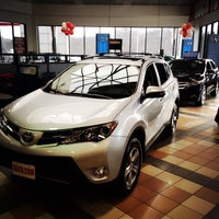 Photo taken at Boch Toyota by Dawei S. on 1/26/2015