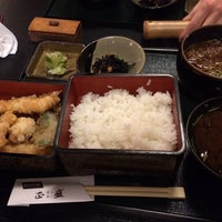 Photo taken at そば料理 正盛 by Naozo on 12/11/2013