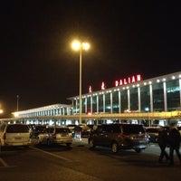 Photo taken at Dalian Zhoushuizi International Airport (DLC) by Naozo on 11/28/2012