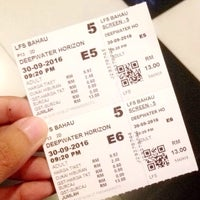 Photo taken at Lotus Five Star Cinemas by Hilmi H. on 9/30/2016