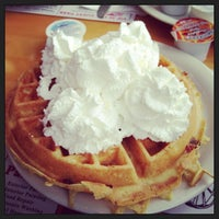 Photo taken at Vic's Waffle House by Megan G. on 2/16/2013