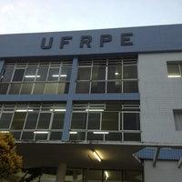 Photo taken at UFRPE - Universidade Federal Rural de Pernambuco by Isabela F. on 4/2/2013