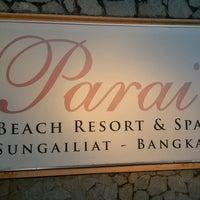 Photo taken at Parai Beach Resort & Spa by Yenny S. on 9/10/2016