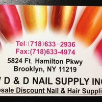 Photo taken at D&D Nail Supply by Mingster C. on 4/22/2013