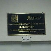 Photo taken at nucleoteca by Benjamin T. on 5/8/2013