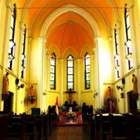 Photo taken at Regina Pacis Bogor by Maria A. on 8/26/2013