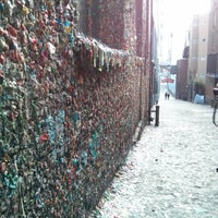 Photo taken at Gum Wall by Randy J. on 2/10/2013