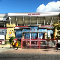 Photo taken at West Ham Utd Supporters Club by Xavier P. on 11/3/2012