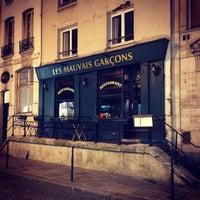 Photo taken at Les Mauvais Garçons by Redd on 1/2/2014