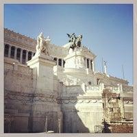 Photo taken at Altare della Patria by Devin W. on 7/13/2013