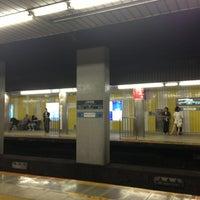 Photo taken at Den-en-toshi Line Sangen-jaya Station (DT03) by Takashi F. on 6/9/2013