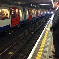 Photo taken at Platform 2 by Chris B. on 9/25/2013