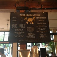 Photo taken at Case Study Coffee by Chris D. on 7/7/2013
